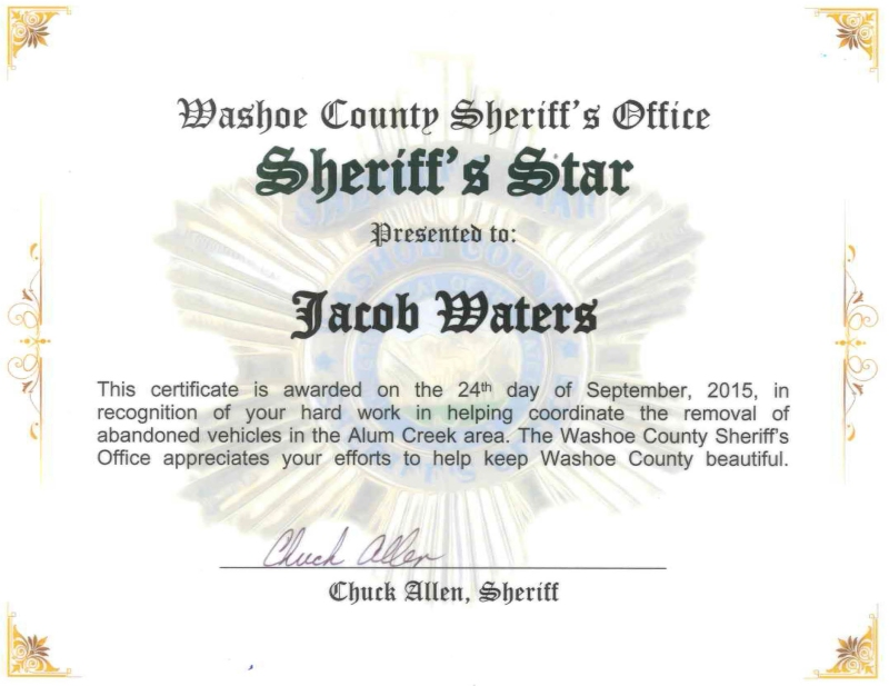 washoe-county-sheriff-silver-star